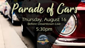 Garlic City Car Show: Parade of Cars @ Downtown Gilroy