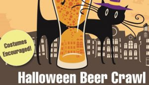 Halloween Beer Crawl @ Downtown Gilroy