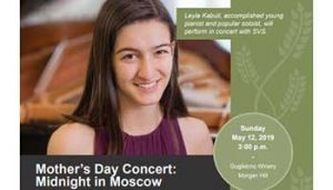 South Valley Symphony - Mother's Day Concert: Midnight in Moscow @ Guglielmo Winery