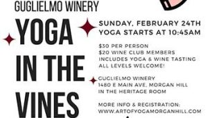 Yoga in the Vines! @ Guglielmo Winery