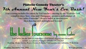 New Year's Eve Bash @ Pintello Comedy Theater
