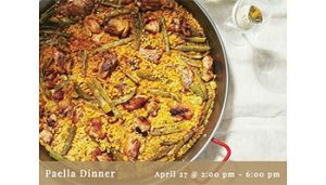 Paella Dinner @ Fortino Winery