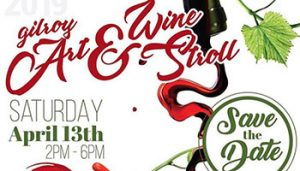 Art and Wine Stroll @ Downtown Gilroy