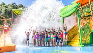 Water Oasis Opening @ Gilroy Gardens Family Theme Park
