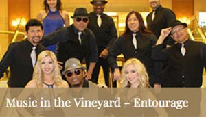 Music in the Vineyard – Entourage @ Fortino Winery