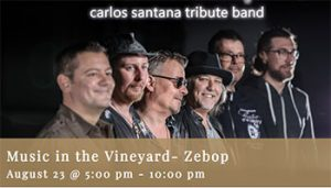Music in the Vineyard- Zebop @ Fortino Winery