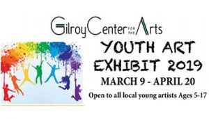 Youth Art Exhibit Opening Reception @ Gilroy Center for the Arts