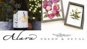 DIY Pressed Petal Workshop @ Alara Cellars