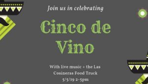 Cinco De Vino @ The Stomping Ground