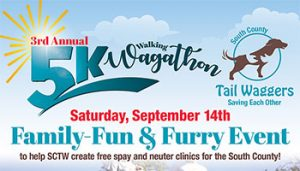 3rd Annual 5K Walking Wagathon @ Christmas Hill Park