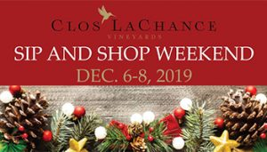 Sip and Shop @ Clos La Chance Winery