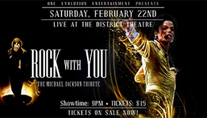 Rock with You - The Michael Jackson Tribute @ The District Theater