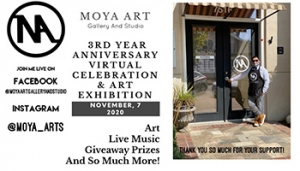 Virtual 3rd Year Anniversary @ Moya Art Gallery