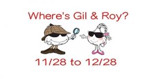 Find Gil and Roy in Downtown Gilroy! @ Gilroy Downtown Business Association