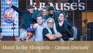 Music in the Vineyard- Groove Doctors @ Fortino Winery