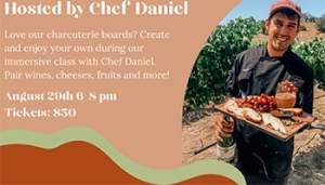 Charcuterie Class with Chef Daniel @ Fortino Winery